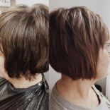 Hot Heads Extensions for Angled Bob