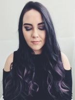 Custom Lilac Hot Head Extensions